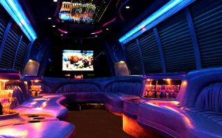 18 passenger party bus rentals West Palm Beach