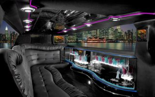 Chrysler 300 limo interior West Palm Beach