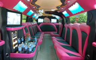 West Palm Beach pink hummer limousine West Palm Beach