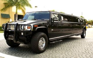 black hummer limo West Palm Beach