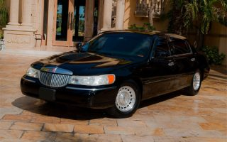 lincoln black lincoln sedan West Palm Beach
