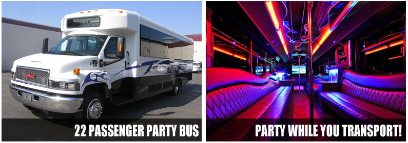 Wedding Transportation Party bus rentals West Palm Beach