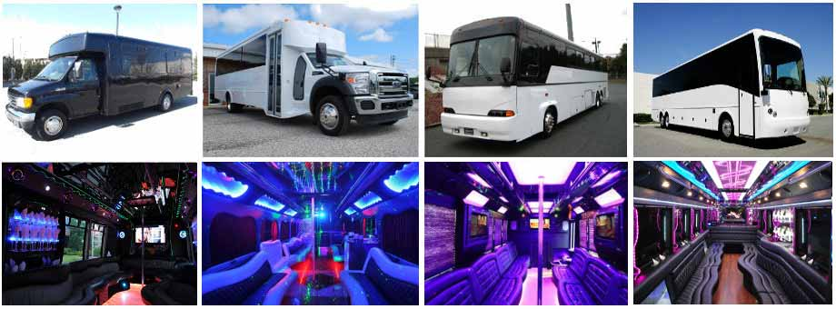 Wedding Transportation Party buses West Palm Beach