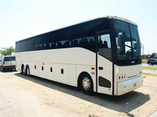 West Palm Beach 56 Passenger Charter Bus